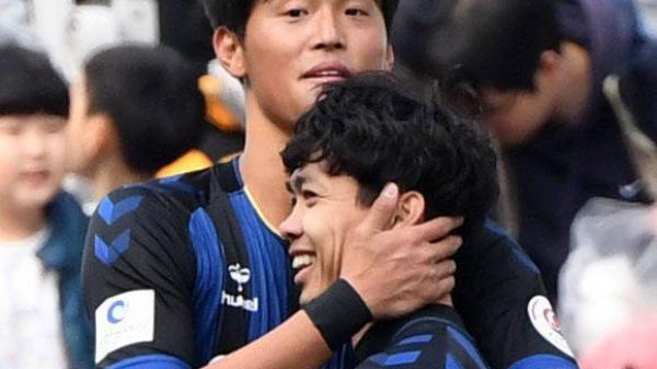 Công Phượng lập cú đúp giúp Incheon thắng đậm nhưng vẫn phải rời sân sớm