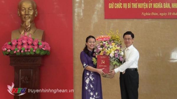 Nghệ An: Huyện Nghĩa Đàn có nữ Bí thư đầu tiên