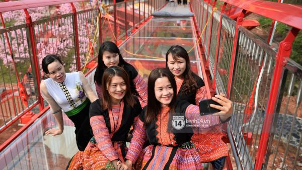 """Cận cảnh chiếc cầu kính trong suốt """"độc nhất vô nhị"""" ngay gần Lào Cai"""