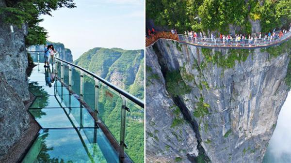 """Thực hư thông tin xuất hiện cây cầu kính ở Lai Châu có tên là """"Hảo Hán Kiều khiến giới trẻ """"rần rần"""" mấy ngày qua"""