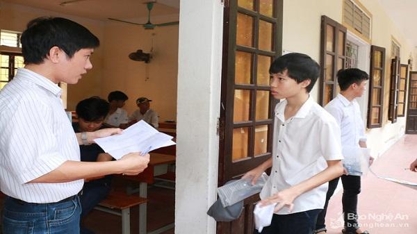 Nghệ An chính thức thực hiện thi tổ hợp trong tuyển sinh lớp 10