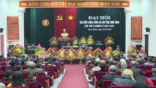 Đại Hội đại biểu cộng đồng họ Bùi tỉnh Ninh Bình lần thứ II, nhiệm kỳ 2017- 2022