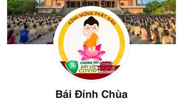 Giả mạo Facebook của chùa Bái Đính để kêu gọi từ thiện