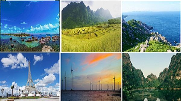 Ninh Bình dẫn đầu top 6 điểm đến 'làm mưa làm gió' trong năm 2017