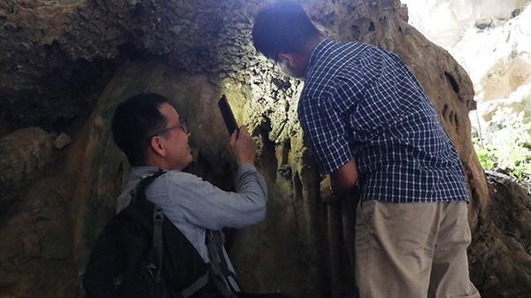 Ninh Bình: Phát hiện di tích người tiền sử tại Hang Dơi