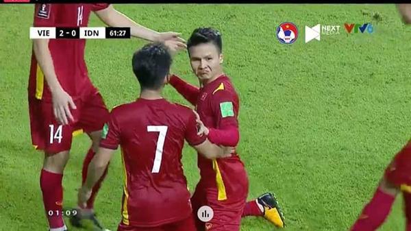 """Việt Nam """"chốt đơn"""" Indonesia 4-0, mạng xã hội bùng nổ loạt meme cực đỉnh, biểu cảm của Quang Hải chiếm trọn spotlight"""