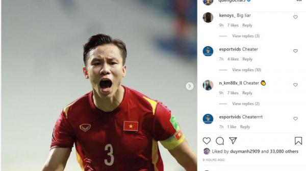 """CĐV Malaysia tấn công trang cá nhân Quế Ngọc Hải: """"Chơi gian lận nhưng vẫn tự hào"""""""