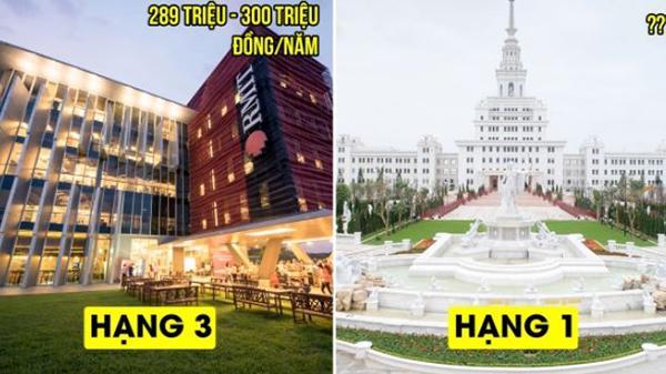 4 trường đại học 'con nhà giàu' khủng nhất Việt Nam: Hạng 1 không phải RMIT
