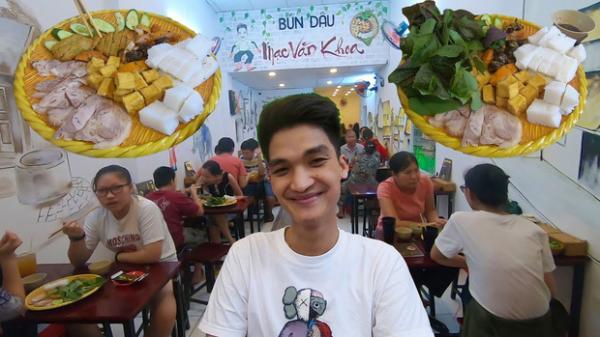Xôn xao bài đăng tố bún đậu mắm tôm của Mạc Văn Khoa có gián, giá cao hơn 20% chỗ khác nhưng dùng thịt đông lạnh, suất ăn quá ít?