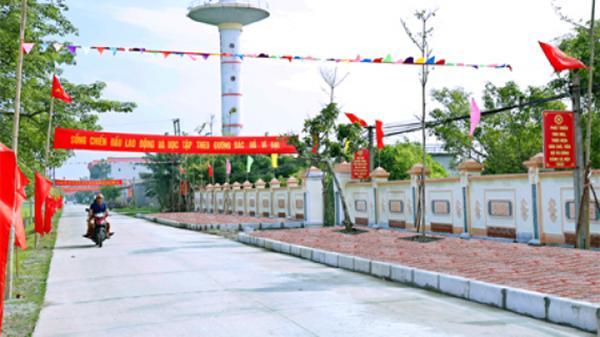 Công nhận huyện Yên Mô (Ninh Bình) đạt chuẩn nông thôn mới