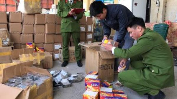 Ninh Bình: Phát hiện, bắt giữ xe vận chuyển hàng hóa không rõ nguồn gốc trị giá 2 tỷ đồng
