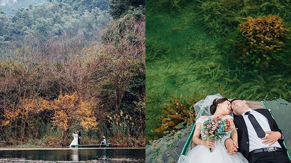 """Tháng 12 này, bạn vẫn có thể đến Ninh Bình """"sống ảo"""" với hồ nước rong rêu huyền ảo"""