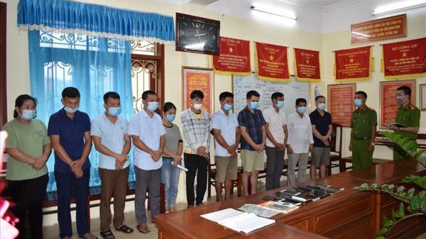 Đánh sập đường dây đánh bạc công nghệ cao ở Ninh Bình