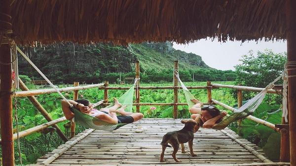 """""""Bắt sóng"""" ngay 3 homestay thiên nhiên xanh mát ở Ninh Bình"""