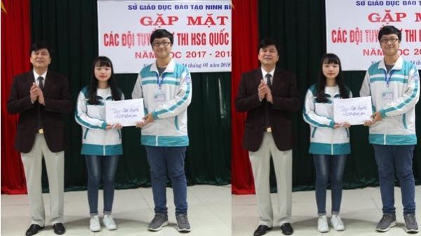 Ninh Bình: Gặp mặt các đội tuyển dự thi HSG Quốc gia THPT năm học 2017-2018