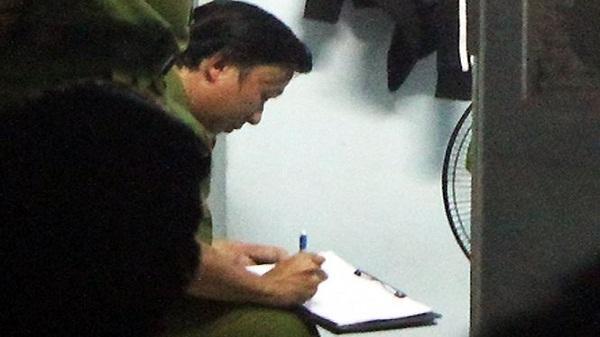 Lời khai của trung úy CSGT- nghi can vụ nổ súng chết người