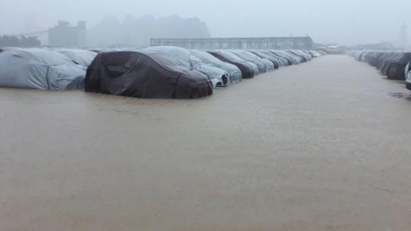 """Thông tin chính thức từ Hyundai Thành Công (Ninh Bình) về vụ """"Xe ngập nước"""""""
