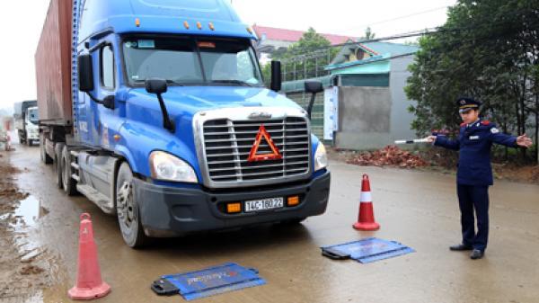 """Ninh Bình: Kiên quyết xử lý xe quá tải """"cứu"""" tỉnh lộ 479"""