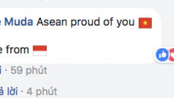 CĐV Đông Nam Á  và Iraq thán phục U23 Việt Nam