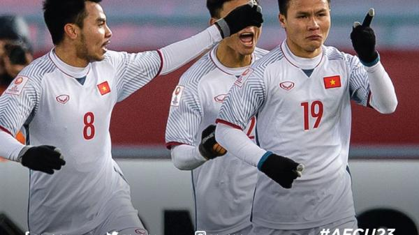 Việt Nam làm nên lịch sử khi đánh bại U23 Qatar, bạn bè Quốc tế đồng loạt gửi lời cổ vũ và chúc mừng