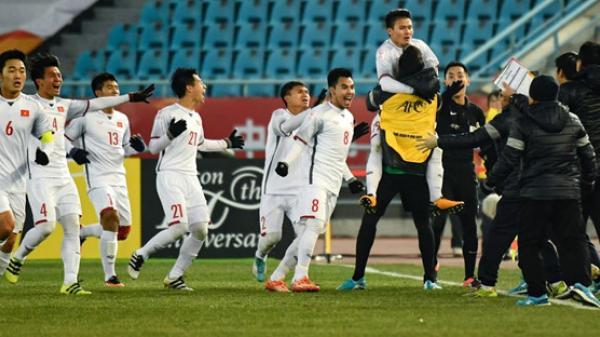 Sau chiến thắng lịch sử trước Qatar: Hai cầu thủ U23 Việt Nam bị kiểm tra doping ngay lập tức