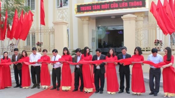 Khánh thành Trung tâm một cửa liên thông thành phố Ninh Bình