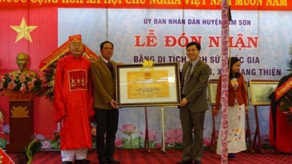 Kim Sơn: Miếu và Chùa Lạc Thiện đón nhận bằng xếp hạng di tích Quốc gia