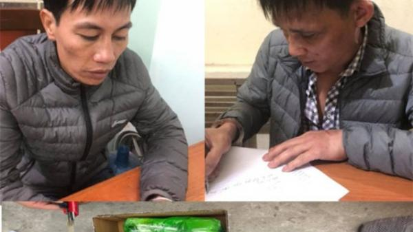 Bắt quả tang hai đối tượng Ninh Bình vận chuyển 2,3 kg ma túy đá