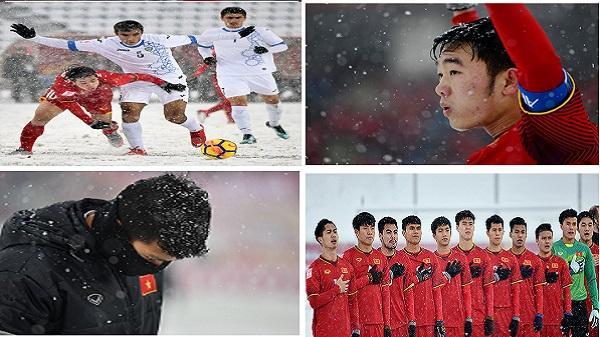 """Vén màn phía sau trận """"đại chiến"""" trên tuyết của U23 Việt Nam: Nước mắt và vinh quang!"""