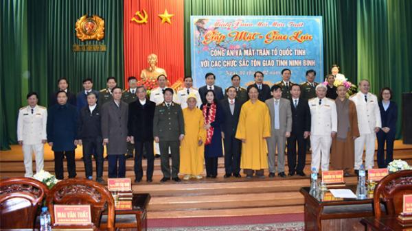 Ninh Bình gặp mặt chức sắc tôn giáo nhân dịp Tết Mậu Tuất 2018