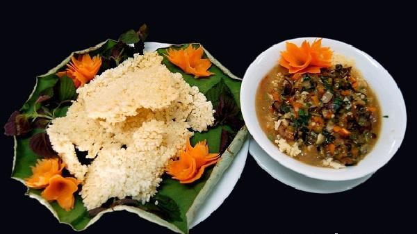 Cơm cháy Ninh Bình – Giá trị ẩm thực Châu Á