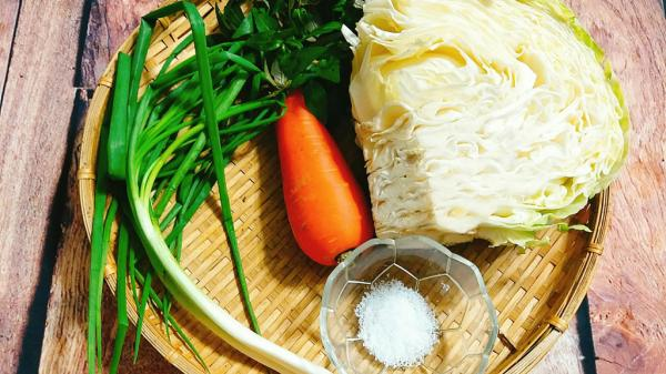 """Dưa bắp cải muối chua - Món ăn chống ngán luôn hết """"sạch sành sanh"""" trong mỗi bữa ăn"""