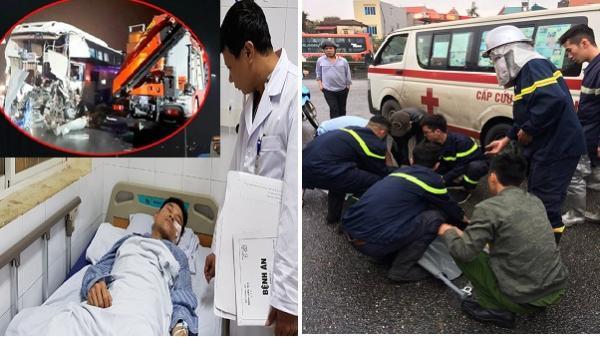 Lặng người nghe Trung úy PCCC-người sống xót trong vụ va chạm khiến 20 người thương vong trên cao tốc Hà Nội- Ninh Bình kể lại giây phút xe cứu hỏa bị húc bay