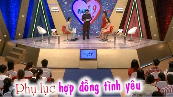 """Chàng trai Ninh Bình """"yêu cầu"""" Quyền Linh, Cát Tường ký vào bản hợp đồng tình yêu khiến trường quay """"Bạn muốn hẹn hò""""  bấn loạn"""