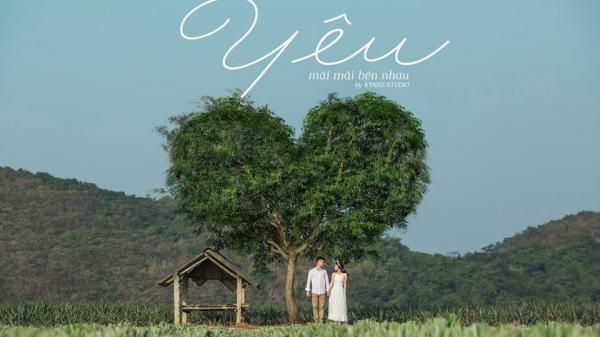 """""""Vẽ giấc mơ tình yêu"""" trên cánh đồng dứa Ninh Bình: Cặp đôi khiến dân tình phát sốt với bộ ảnh cưới trong trẻo"""