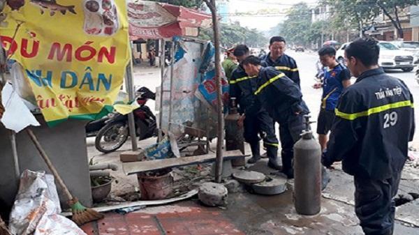 """Yên Bái: Phát hoảng với tiếng nổ như """"bom"""" tại một cửa hàng bóng bay"""