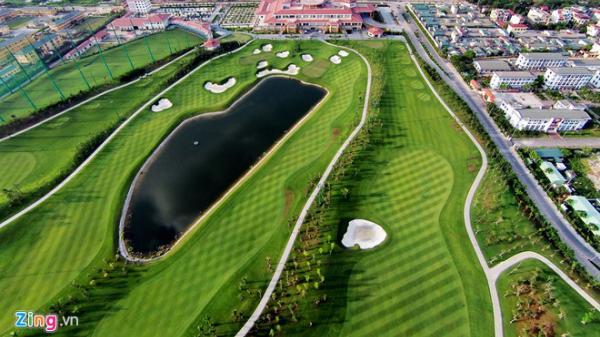 Sân golf  Kênh Gà-Ninh Bình được bổ sung vào quy hoạch sau 4 năm bị 'hãm'