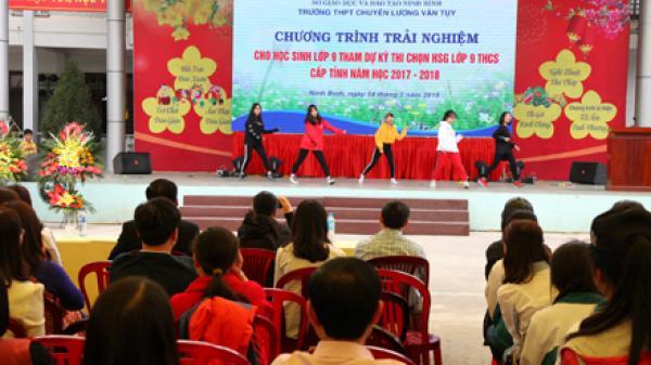 Tại sao THPT Lương Văn Tụy lại là ngôi trường cấp 3 mơ ước của nhiều học sinh Ninh Bình?