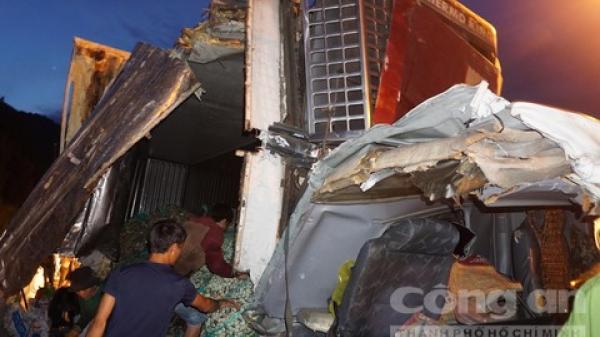 Bình hơi ô tô phát nổ, lái xe Ninh Bình mất thắng gây t.ai nạn liên hoàn ng.hiêm trọng