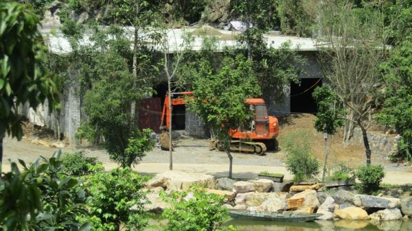 Khu du lịch sinh thái vườn chim Thung Nham: Bị xử phạt vì tự ý xây dựng sai phép