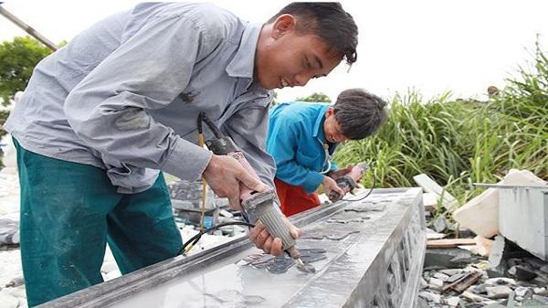 Nhọc nhằn nghề đá Ninh Vân