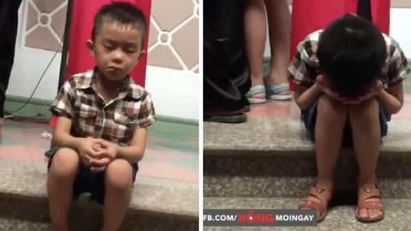 Lặng lặng ngồi khóc trong ngày chị lấy chồng, cậu bé 3 tuổi khiến cộng đồng mạng tha thiết muốn có em trai