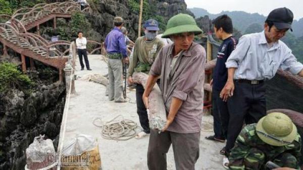 Công trình xâm hại Tràng An: Ninh Bình làm điều bất ngờ
