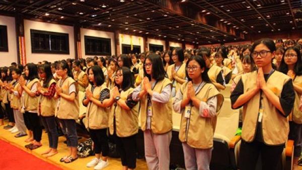 Tổ chức các đợt khóa tu mùa hè năm 2018 tại chùa Bái Đính
