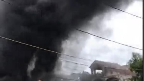 Ninh Bình: Cháy chợ Đò, ước tính thiệt hại lên đến 8,5 tỷ đồng