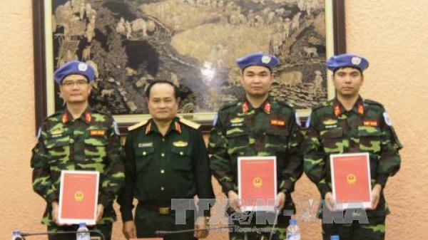 Tự hào trung tá Ninh Bình: Hoàn thành xuất sắc nhiệm vụ của Liên hợp quốc, khiến bạn bè quốc tế nể phục, khẳng định dấu ấn Bộ đội Cụ Hồ