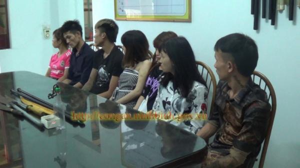 Ninh Bình: Phát hiện nhóm nam nữ tụ tập sử dụng ma túy