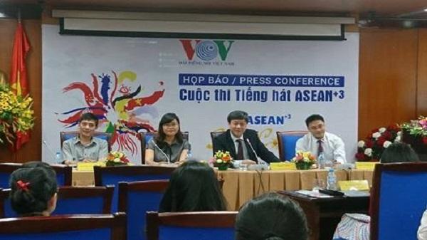 Cuộc thi tiếng hát ASEAN+3 lần đầu tiên tại Việt Nam