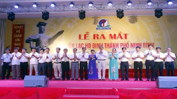 Ra mắt Ban liên lạc họ Đinh thành phố Ninh Bình
