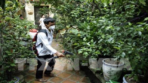 Dịch sốt xuất huyết tại Hà Nội:  Ninh Bình hỗ trợ máy phun hóa chất công suất lớn